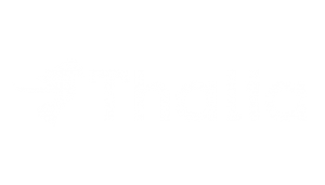 weißes Thalia Logo