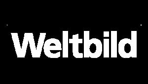 weißes Weltbild Logo
